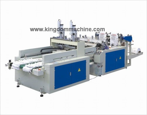 Automatic T-shirt bag making machine