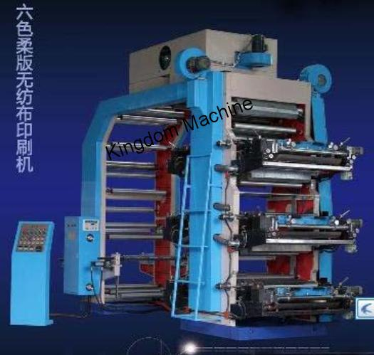 High Speed Six Colors Flexographic Printing Machine