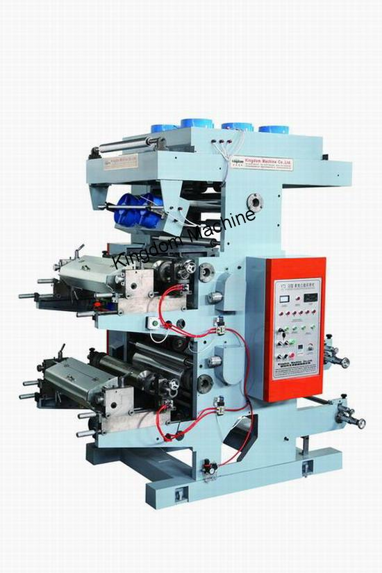 Two Colour Flexo Printing Machine