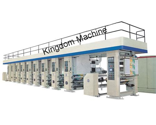 High-Speed Rotogravure Printing Machine